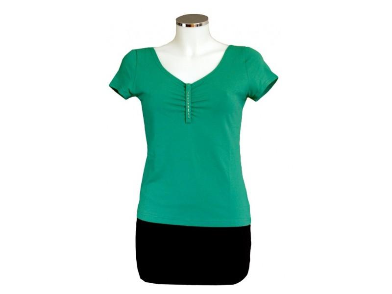Jednobarvné tričko