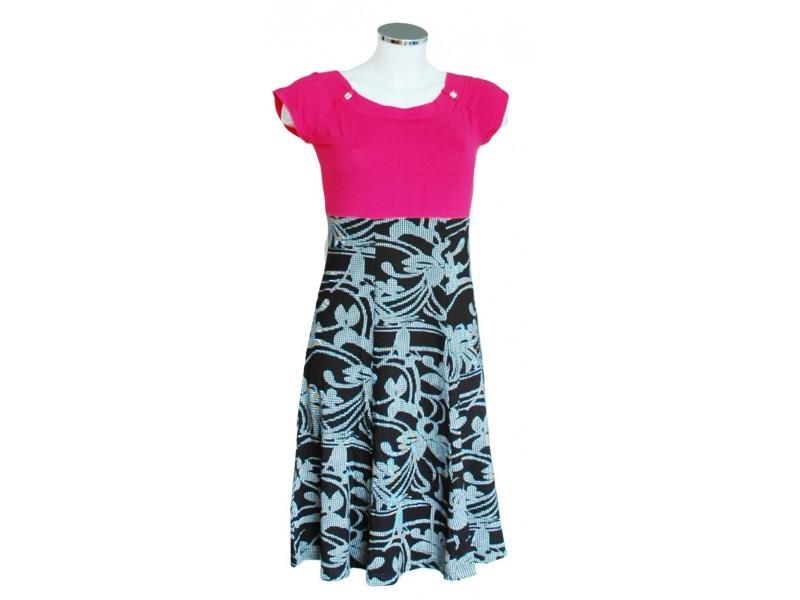 šaty s rukávky