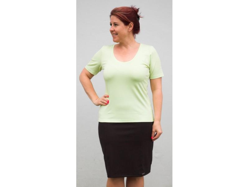 Zelenkavé triko