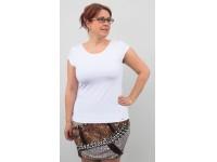 Tričko bílé klasické