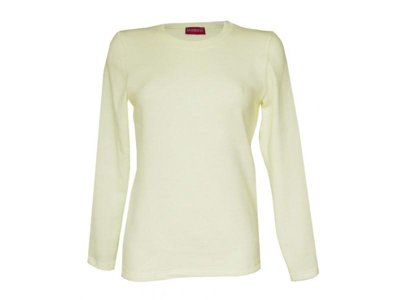 Smetanový teplý svetr
