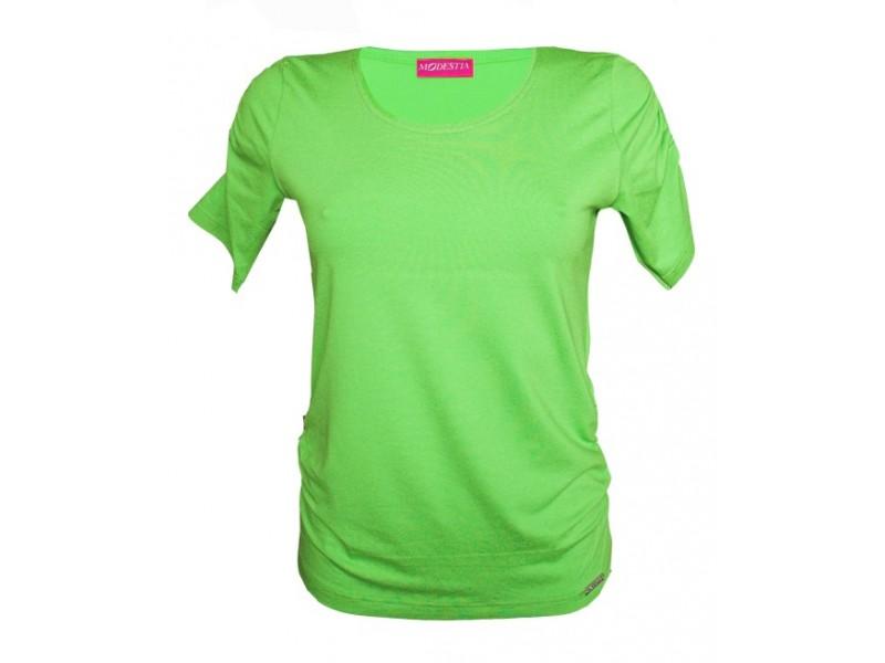 jednobarevné triko