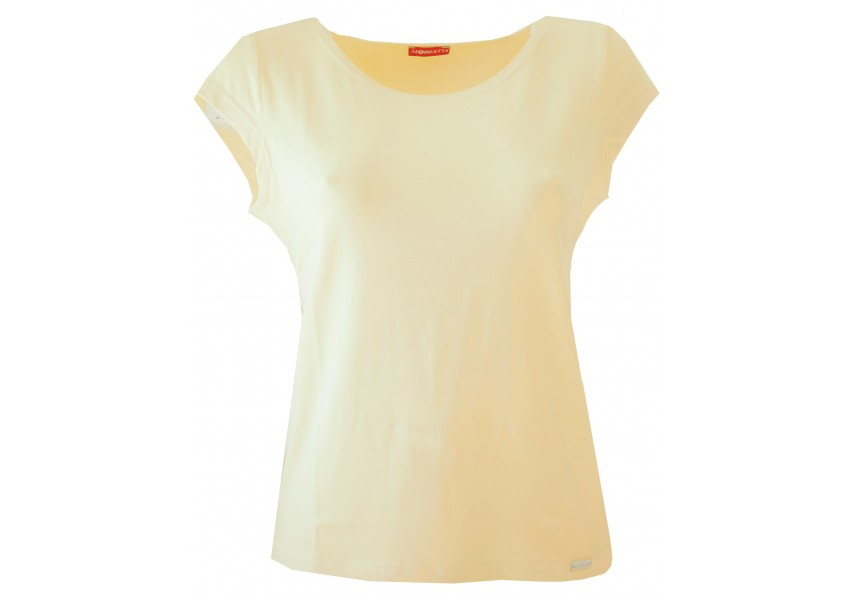 Žluté jednobarevné triko