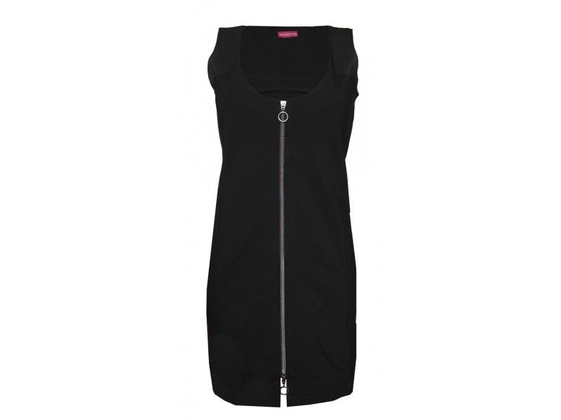 Černá šatová sukně