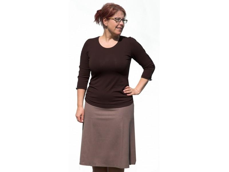 Béžová sukně