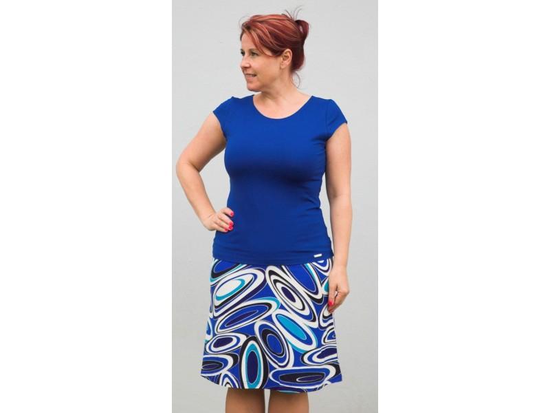 Tričko královská modrá