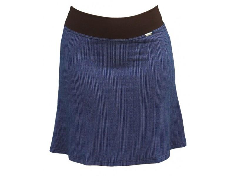 Modro-černá sukně