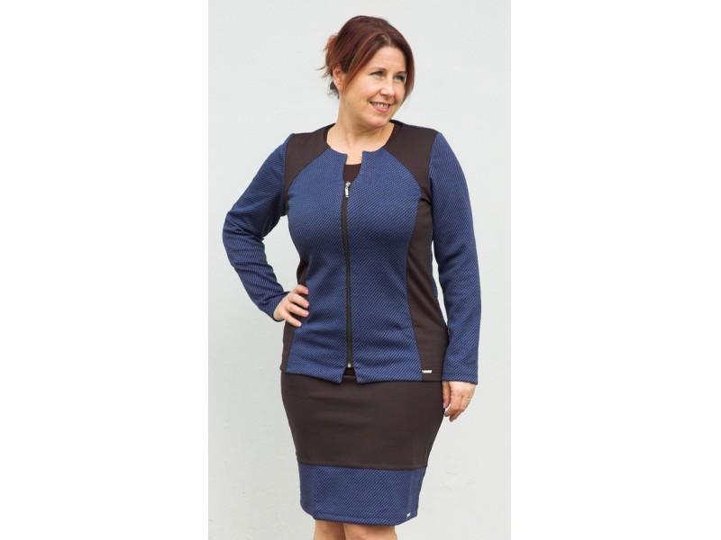 Elegantní sako v královské modré barvě