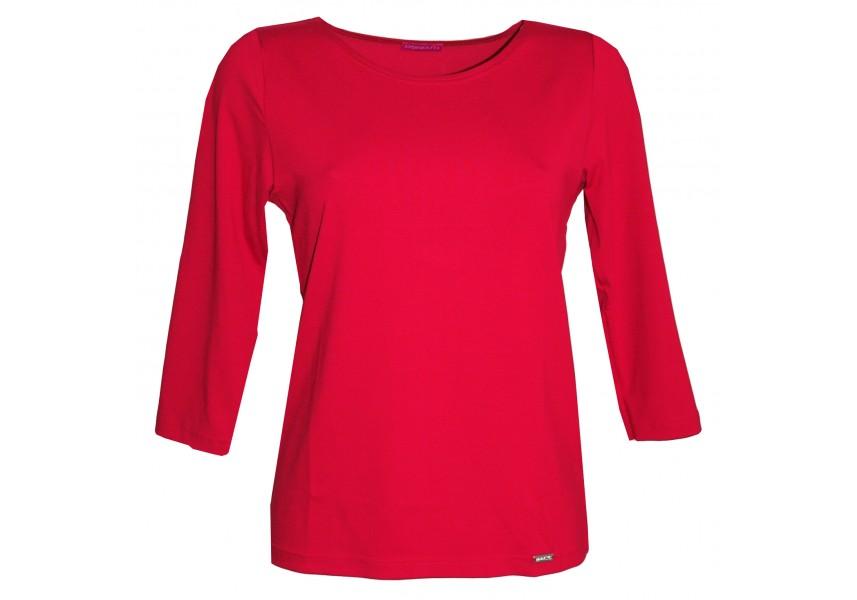 Jednobarevné triko tmavě červené