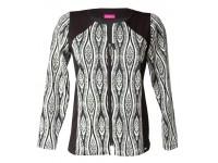Elegantní sako se vzorem