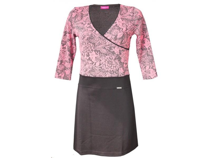 Dámské kombinované šaty
