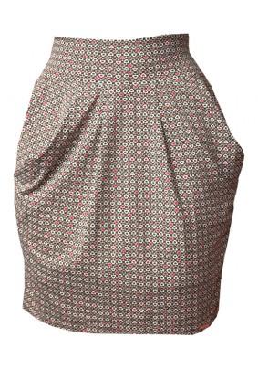 Krátká sukně s kapsami