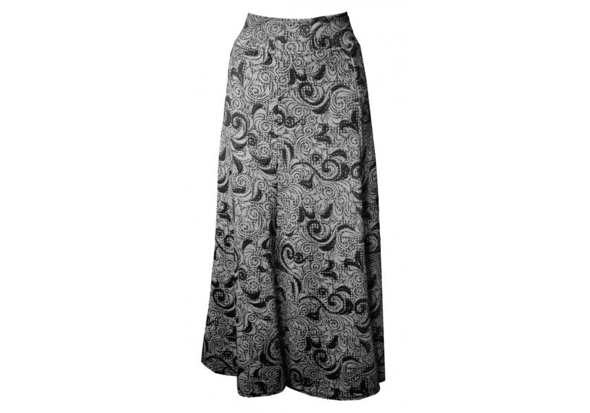 Dlouhá teplá sukně