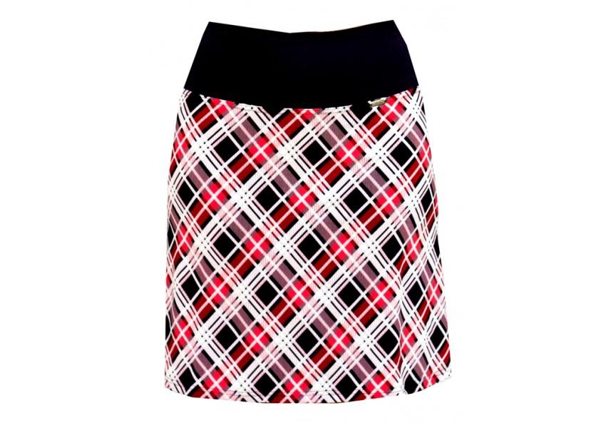 sukně s vysokým pasem