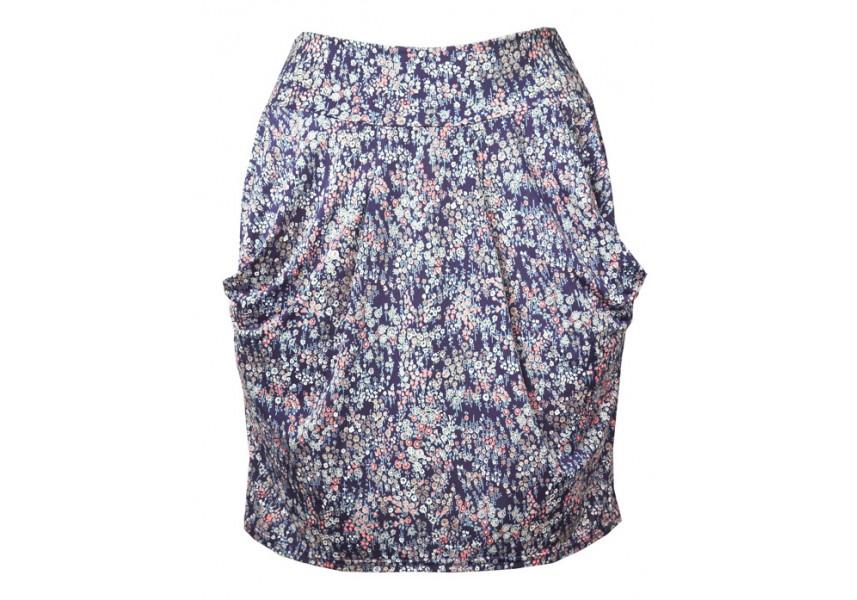 Letní sukně s kapsami