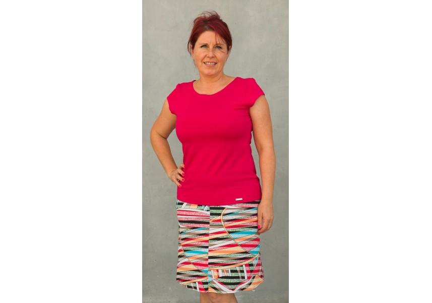 barevná sukně
