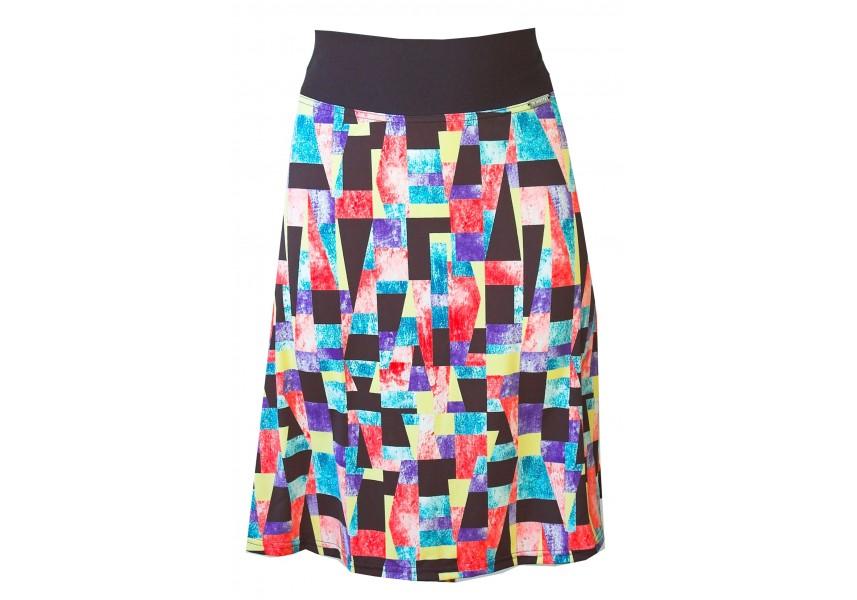 Krátká sukně s elastickým pasem