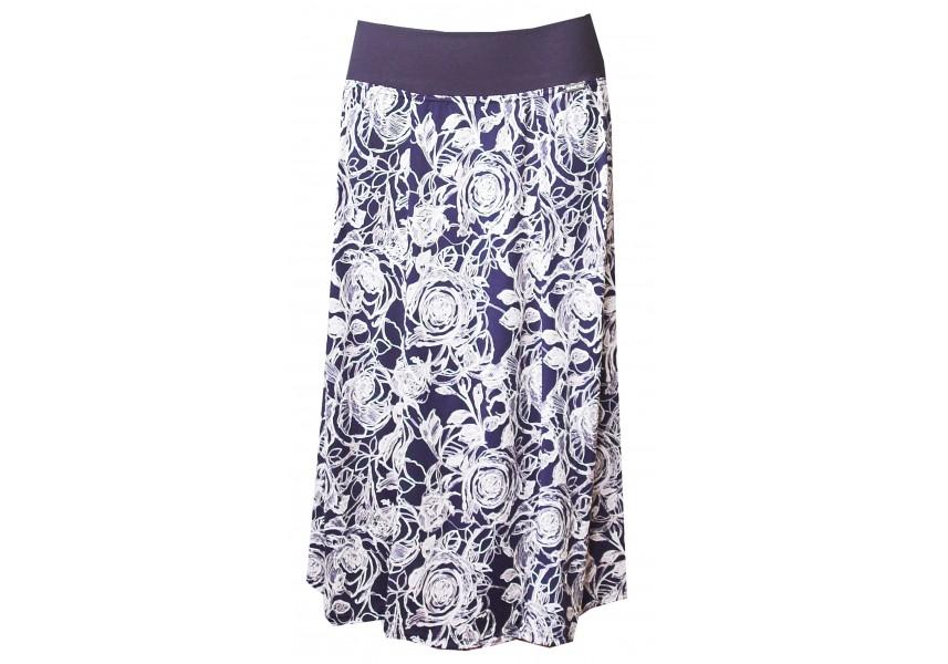Dílová modro-bílá sukně