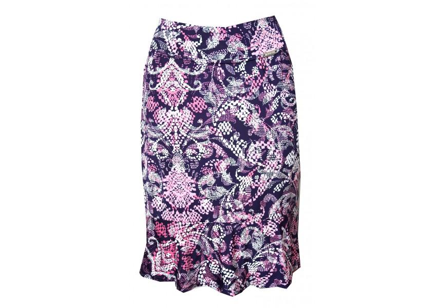 Letní sukně s kanýrem