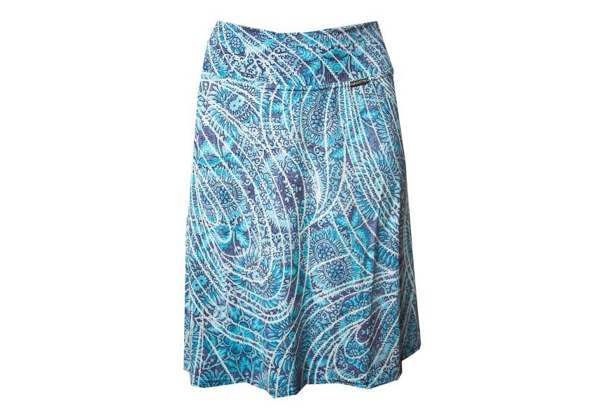 Krátká sukně s plastickým vzorem