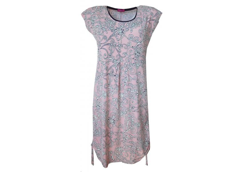 Světle růžové letní šaty