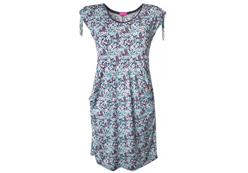 Romantické letní šaty s kapsami