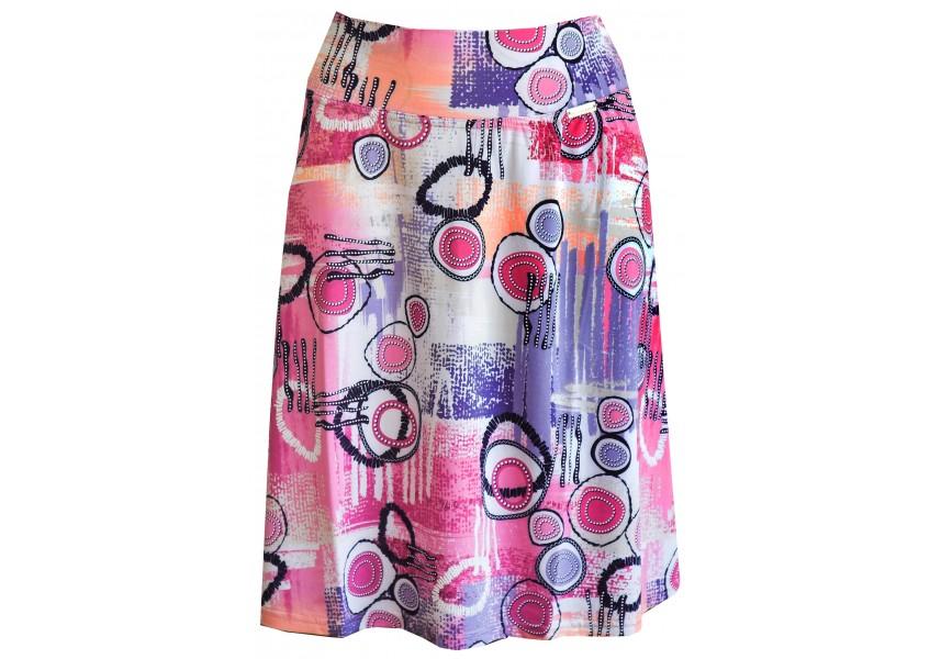 Letní barevná sukně