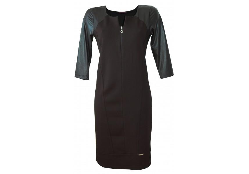 Černé dílové šaty