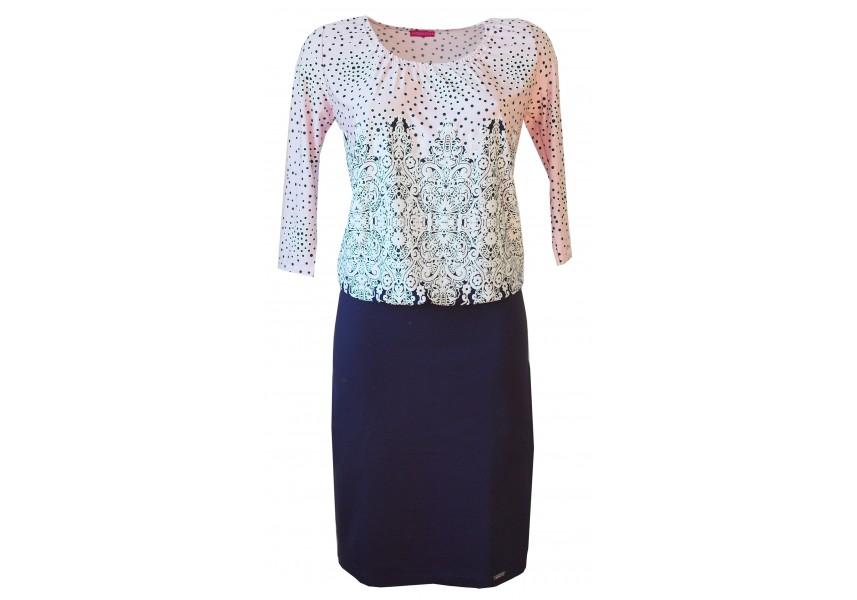 Šaty s úzkou sukní