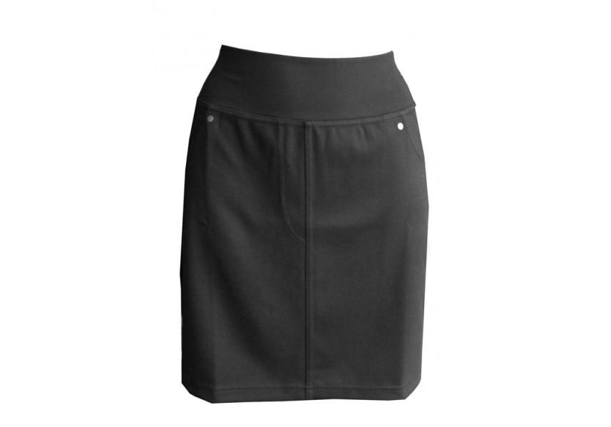 Krátká teplá sukně