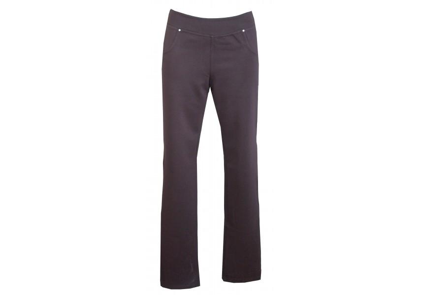 Černé úzké kalhoty