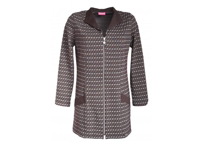 Prodloužený kombinovaný kabátek