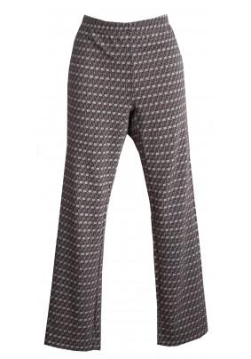 Elastické kalhoty se vzorem