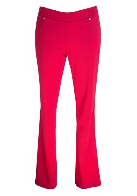 Červené dlouhé kalhoty