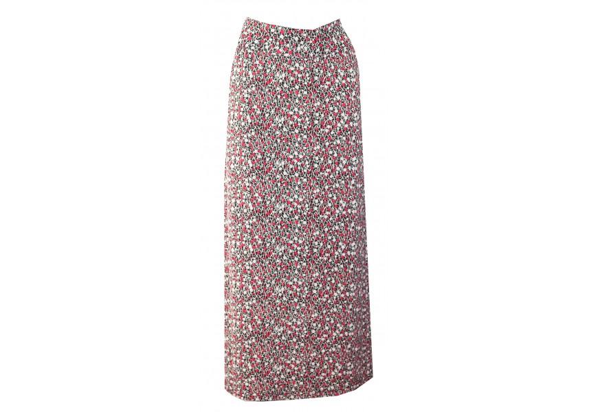 Dlouhá sukně s jemným tiskem
