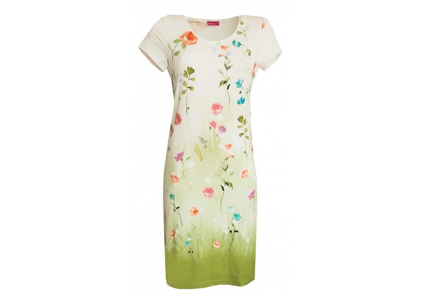 Šaty s letním tiskem