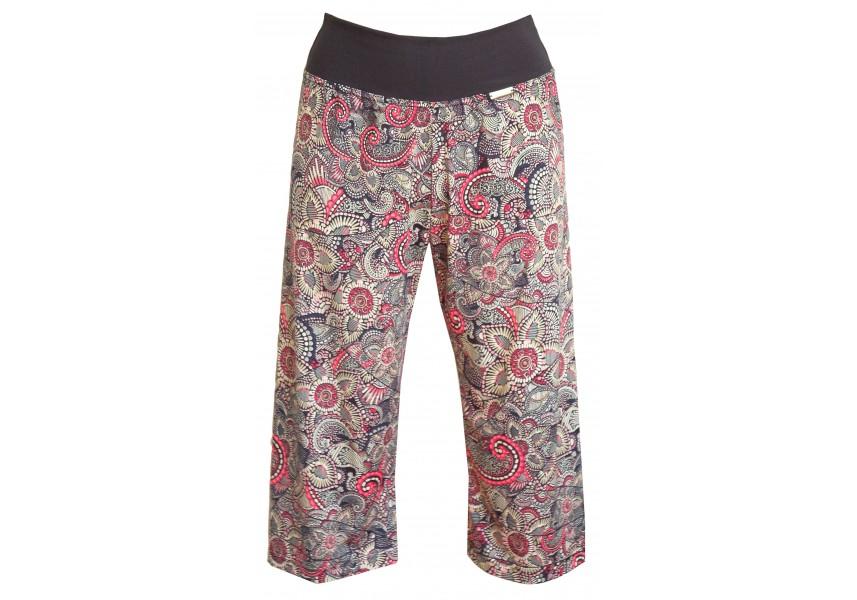 Letní barevné 3/4 kalhoty