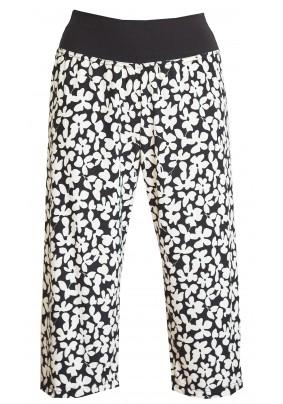 Letní modro-bílé 3/4 kalhoty