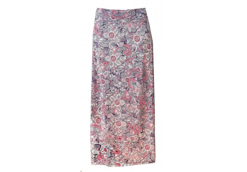 Letní dlouhá barevná sukně