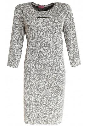 Společenské  stříbrné  šaty