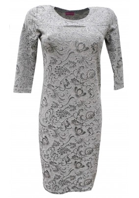 Společenské šaty s prostřihem na prsou