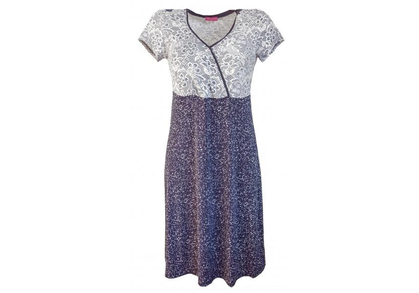 Šaty s otevřeným výstřihem