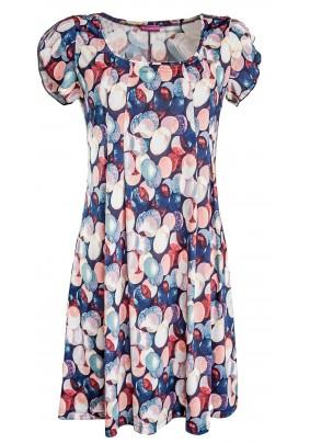 Letní šaty s barevnými koly
