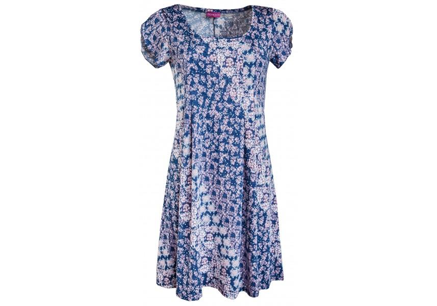 Romantické letní volné šaty