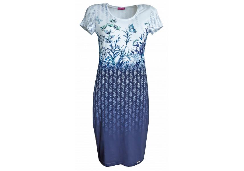 Šaty s lučními květy