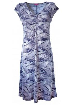 Letní šaty s plastickým tiskem