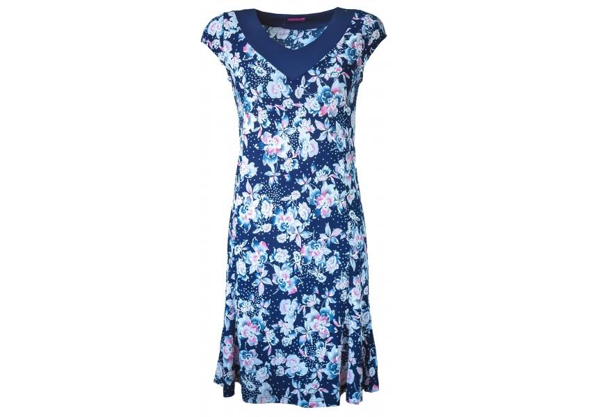 Letní šaty s krátkým rukávem