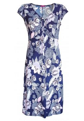 Letní šaty se sukní do A