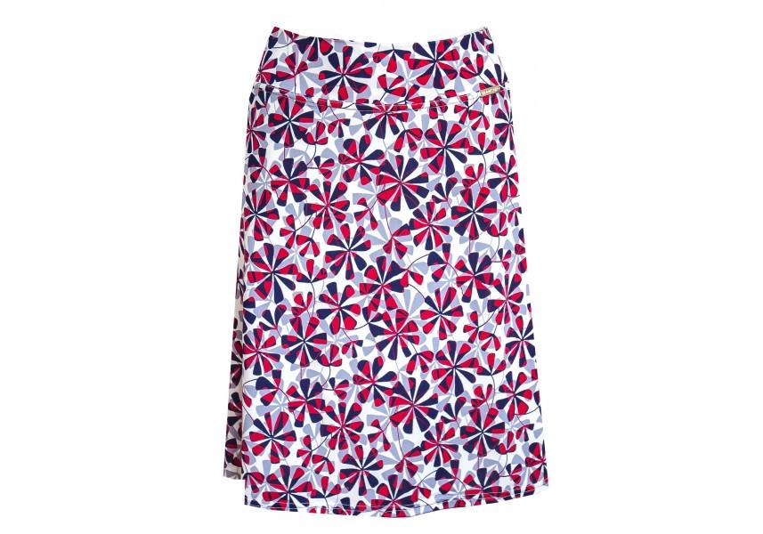 Letní světlá krátká sukně