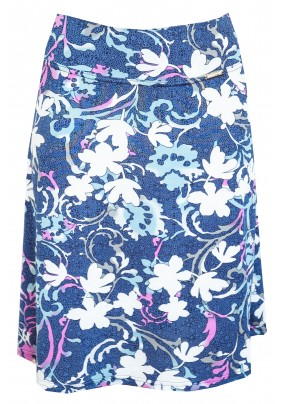 Barevná letní sukně